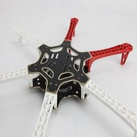 DJI FlameWheel F550 ARF-Naza suits, full six-axis set, can equipped with PTZ, rc Quadcopter, rc aircraft