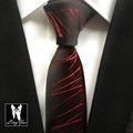 2017 Latest Fashion Slim Tie Mens Luxury Necktie High Quality Handmade Woven Gravata