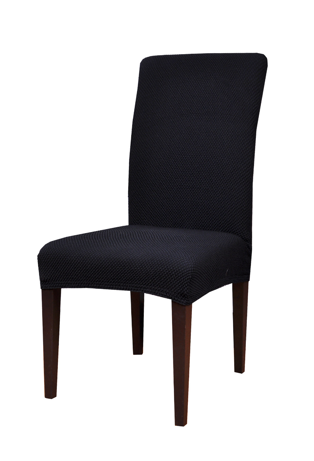 28 black dining room chair covers black dining room for Black dining room chairs