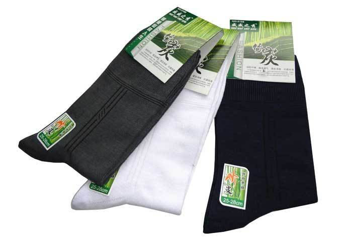 Bamboo charcoal socks for summer wear thin socks for men(China (Mainland))