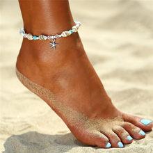 あなたは Bohimia ウミガメアンクレットヴィンテージ女性の夏のビーチ自由奔放に生きる上脚チェーンアンクレットジュエリードロップ無料(China)