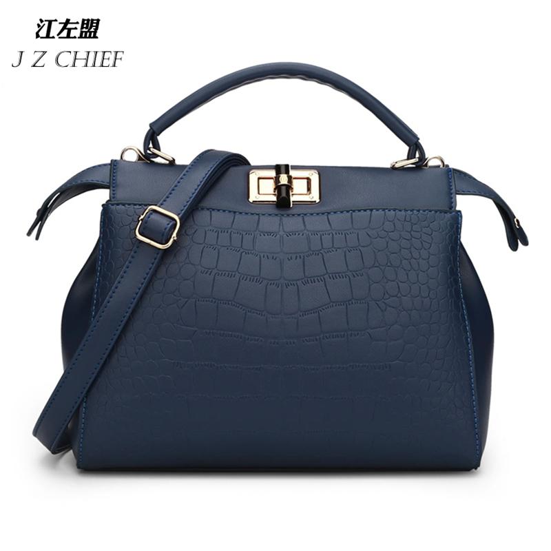 8 colors Fashion Brand Designer Women Bag European and American Casual Alligator Pattern Handbag Lady Shoulder Bag <br><br>Aliexpress