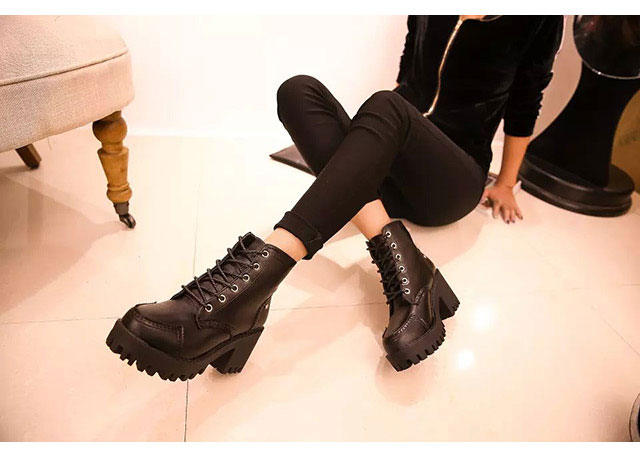 Free Shipping Autumn Winter 2014 New Ankle Boots Short Martin Boots
