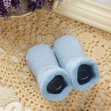 Ideacherry תינוק גרבי סתיו החורף לעבות יילוד גרב חם תינוק ילד ילדה גרבי רצפת גרב מערכות לילדים 0- 3 שנה(China)