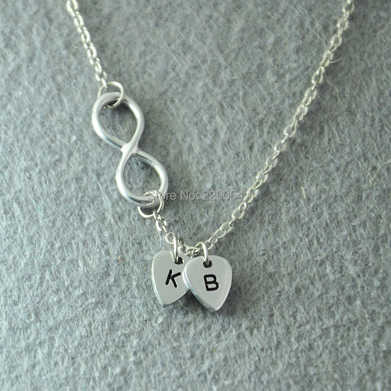 buy personalized infinity necklace