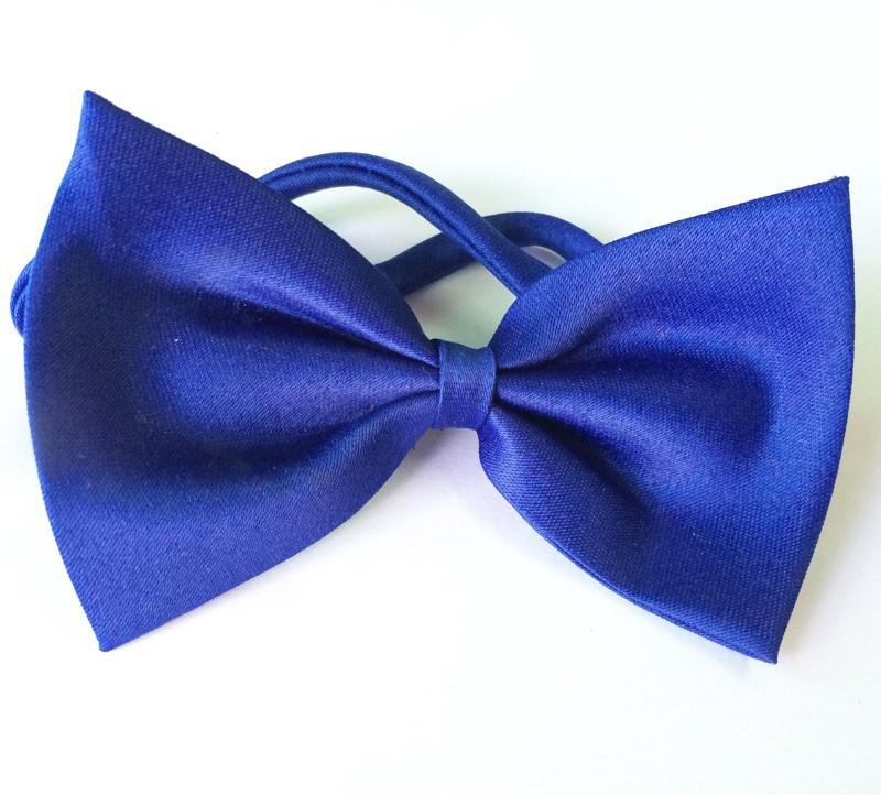 dog bows blue