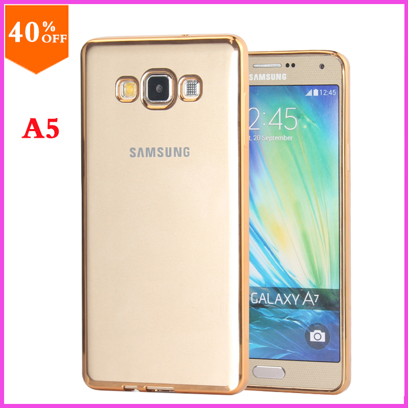 Original Case For Samsung Galaxy a5 a 5 Case to Phone Transparent Luxury Brand Clear a5 Cover By TPU Girl Soft Thin(China (Mainland))