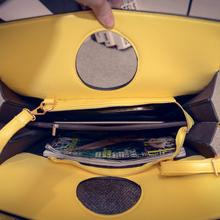 Winter new handbag fashion color Tote Bag bulk bag Simple Shoulder Bag Handbag