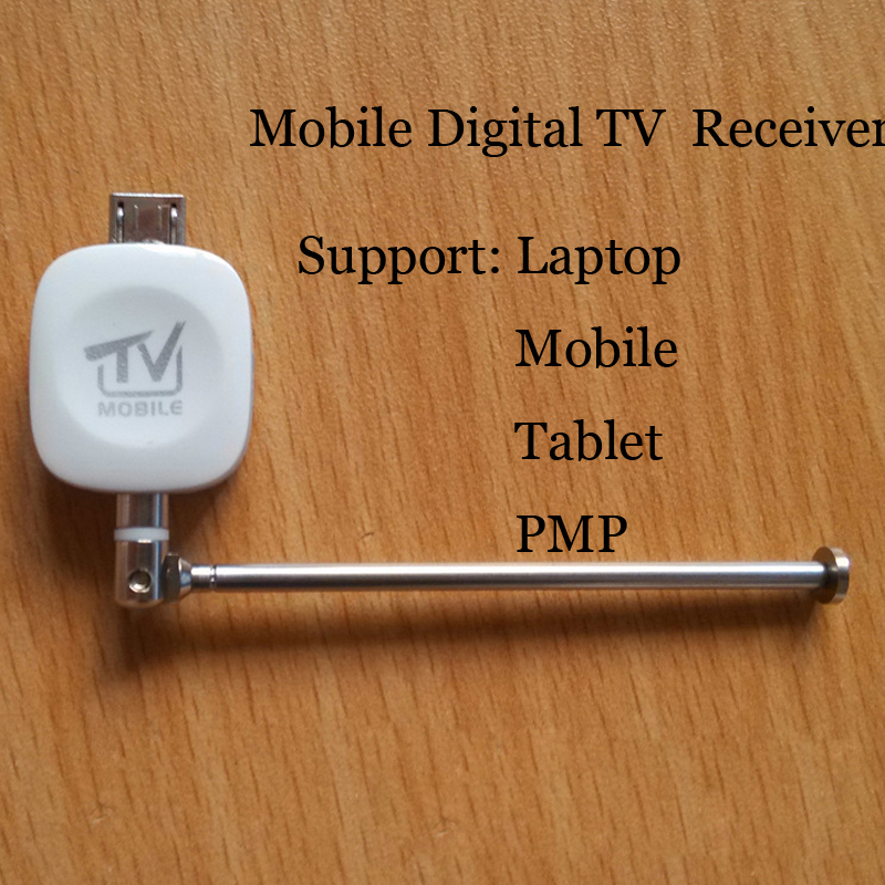 Tv Receivers Mobile Digital TV Receiver Support Phone/ tablet/laptop/PMP Without WIFI Networks, Online Digital TV Broadcast(China (Mainland))