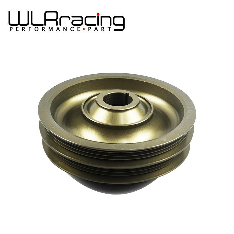 buy racing light weight aluminum crankshaft pulley for 99 00 civic si 94 01. Black Bedroom Furniture Sets. Home Design Ideas