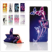 Buy Fashion Painted Wallet Cover PU Leather Flip Case Doogge X5 Phone Cases Card Slot Stand Function Doogge X5 for $3.38 in AliExpress store