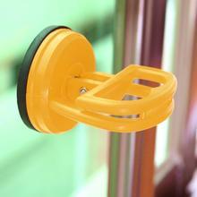 1 unid amarillo extractor del removedor ventosa lechón abrazadera Pad vidrio Metal Lifter carga 15 kg para Truck Car Auto