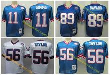 100% Stitiched,New York Giant,Phil Simms,Harry Carson,Lawrence Taylor,Carl Banks,Mark Bavaro,Victor Cruz,Throwback fo,camouflage(China (Mainland))