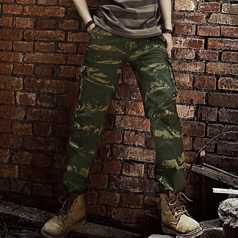 Camo Cargo Pants For Men Hollister Camouflage Men Cargo Pants
