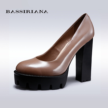 BASSIRIANA – genuine leather, suede, patent leather high heels women pumps, sexy high-heels for woman, 35-40, free shipping