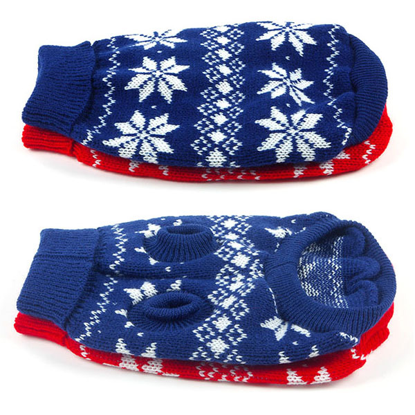 Large Warm Dogs Pet Soft Cozy Xmas Sweater Clothes Knitwear Coat Small Dog Apparel(China (Mainland))