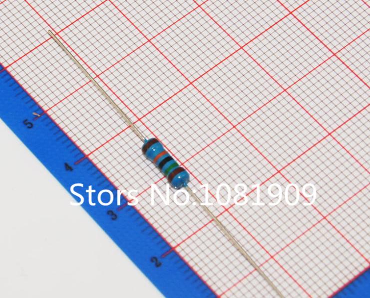 150 К 150 кОм ( 1503 ) 1% 1 / 2 Вт 0.5 Вт металл резистор 50 шт. 2 1 150