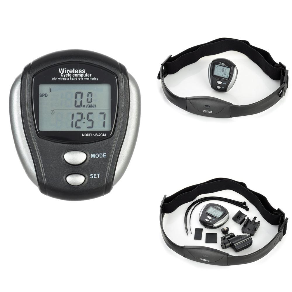 Hot Waterproof Digital 1.5quot; LCD Wireless Bicycle Computer Odometer Speedometer Clock Stopwatch Bike Computer Bicycle Accessories
