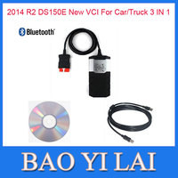 New VCI DS150e CDP PRO  For autocom cdp plus Car/Truck with Bluetooth Car Auto OBD2 OBD OBDII Scanner Diagnostic tool tools