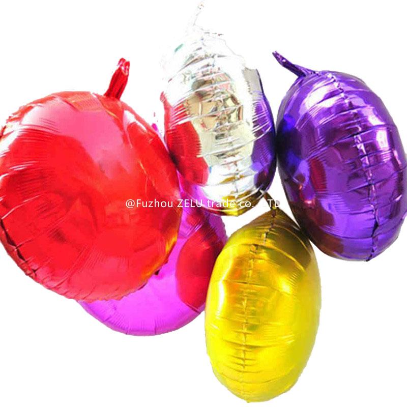 10pcs/lot 45*45cm Aluminum Foil Moon Round Balloon Romantic Wedding Party Supplies Air Balloon For Wedding Decoration 6ZJS046(China (Mainland))