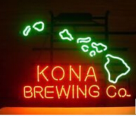 "2015 Hot neon sign commercial custom sign store display NEW KONA BREWING COMPANY bar lights neon lamp corona neon signs 17""x14""(China (Mainland))"