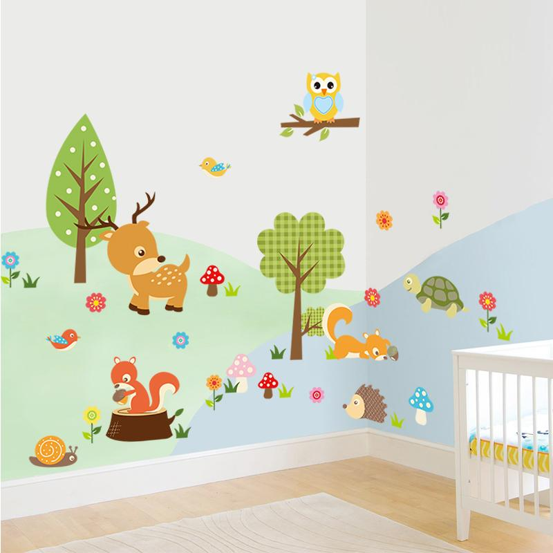 detail feedback questions about lovely little jungle animals wall