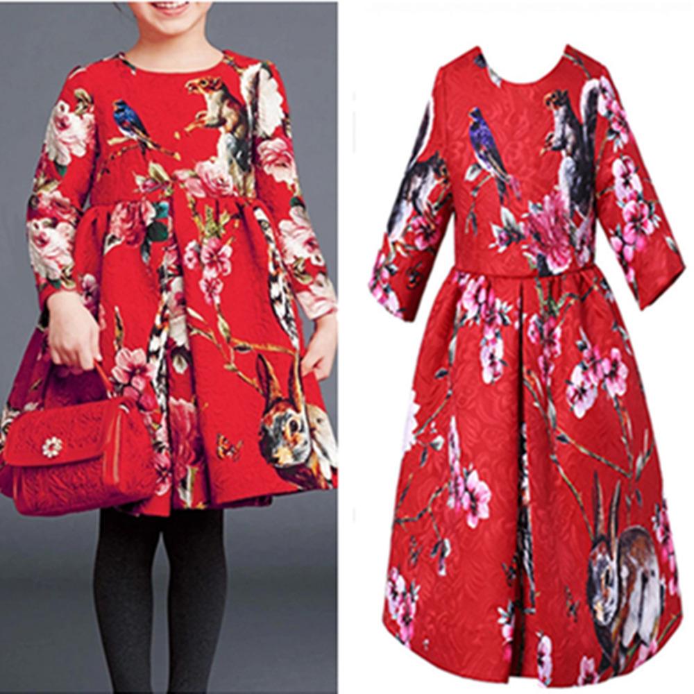 Super Quality 2014 fashion children designer dress, new brand american girls dress, flower kids dress girl, limited quantity<br><br>Aliexpress