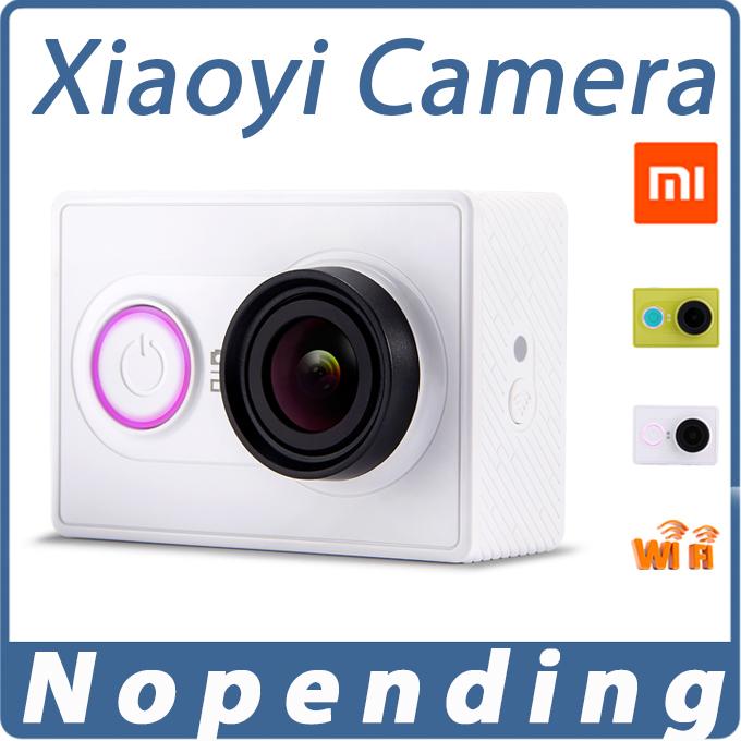 Original Xiaoyi Sports Camera Xiaomi yi WiFi Action Mi Sport Camera 16MP 60FPS WIFI Ambarella Bluetooth 4.0 Waterproof Smart Cam(China (Mainland))