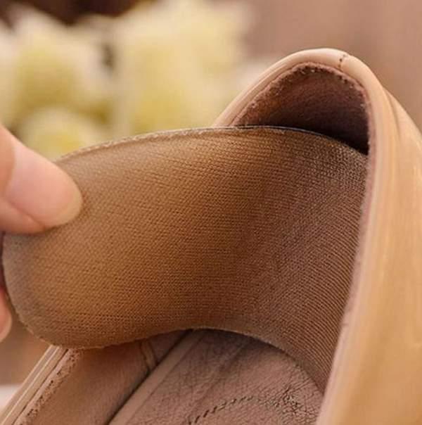 Гаджет  5Pairs Wholesale Fabric Shoe Pads Cushion Liner Grips Back Heel Inserts Insoles None Обувь