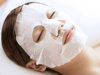 100 pcs/lot Natural bamboo fiber mask paper Skin Face Care DIY Facial Paper Cotton Mask(China (Mainland))
