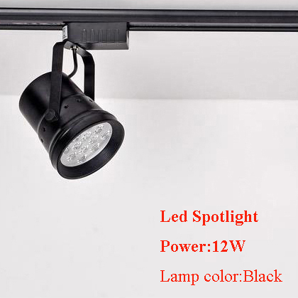 High power super bright Led track light spotlights 12W tracking light 2pcs per lots free shipping(China (Mainland))