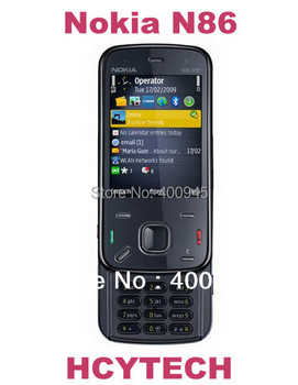 "N86 Refurbished Original Nokia N86 phone unlocked  wifi GPS 2.6"" Screen,FM 8.0mPix high clear camera,Free shipping"