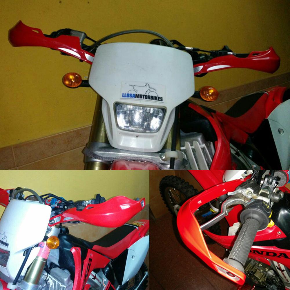 "Motorcycle Racing ATV Street Bike Brush Bar Hand Guards 7/8"" 22mm Handguards For KTM Honda Yamaha(China (Mainland))"