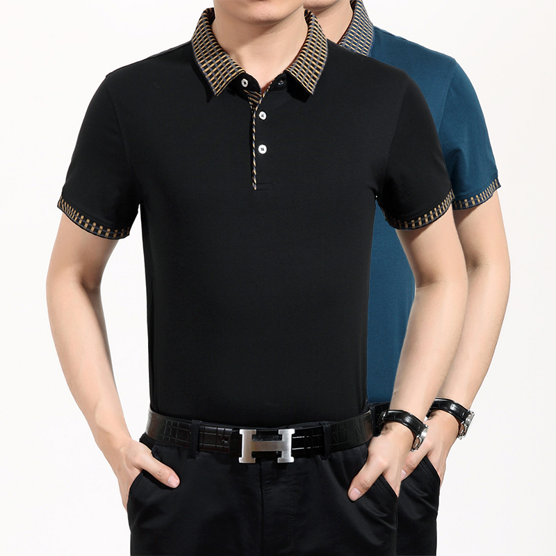 Online get cheap business tshirt alibaba for Mens black shirts online