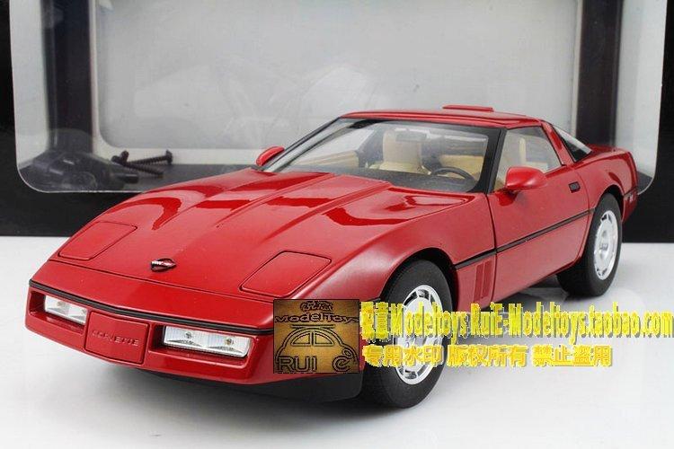 AUTOart Alto 1986 Chevrolet Corvette Chevrolet CORVETTE red(China (Mainland))