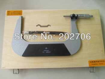 175-200mm* 0.01mm micrometer with counter  Digital Micrometer counter outside micrometer  Top quality!