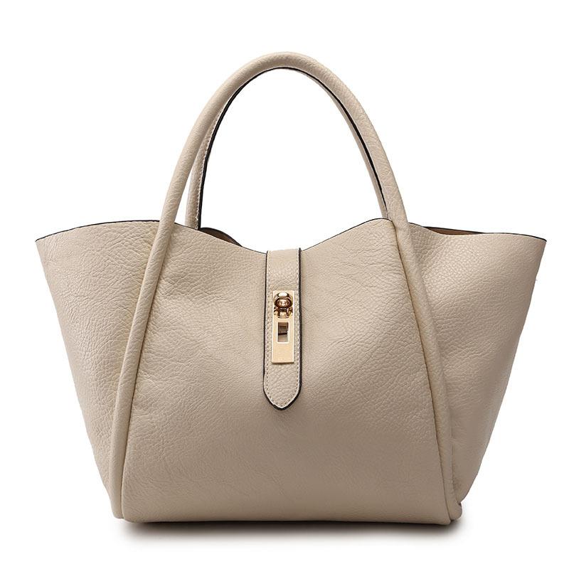 Women PU Handbag Ladies Shoulder Bag Fashion 2016 Casual Trapeze Messenger Bags Composite Sac Hand Tote Female Luxury YQ123266