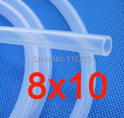 8x10 mm Silicone Hose Medical Use Grade FDA Silicone Rubber Tube