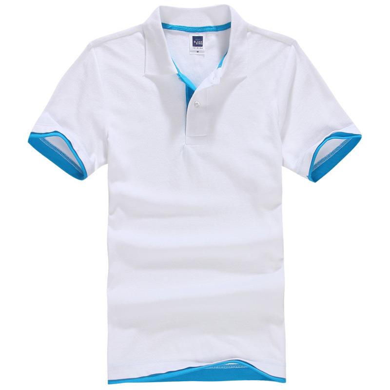 Brand New Men's Polo Shirt Men Cotton Short Sleeve shirt sports jerseys golf tennis Big Size XS - 3XL camisa Polos homme(China (Mainland))