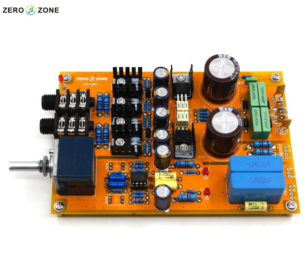 GZLOZONE Assembled Standard Version Headphone Amplifier / Preamplifier Board Base On Lehmann Linear Amp + ALPS Potentiometer