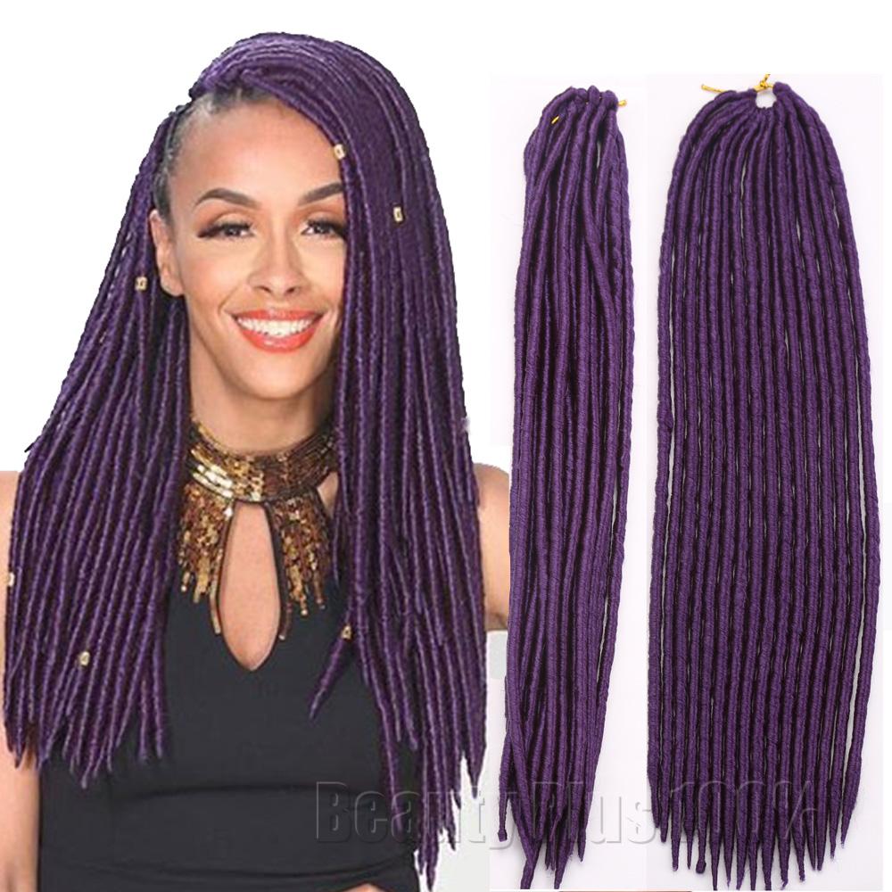 Braid Hair Senegalese box braids Faux Locs Synthetic dreadlocks braids ...