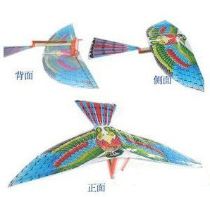 Здесь можно купить  Free Shipping Most Interesting Flapping Wing Aircraft Model Dynamic Creative Model Lucky Bird Toys Children Toy  Игрушки и Хобби