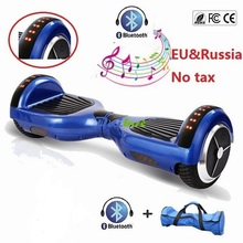 USA Stock 6.5 inch bluetooth hoverboard two wheels electric scooter self balancing scooter electric skateboard hover board(China (Mainland))