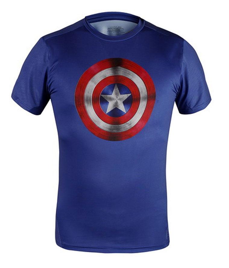 High quality mens t shirts fashion 2015 american captain for High quality mens shirts