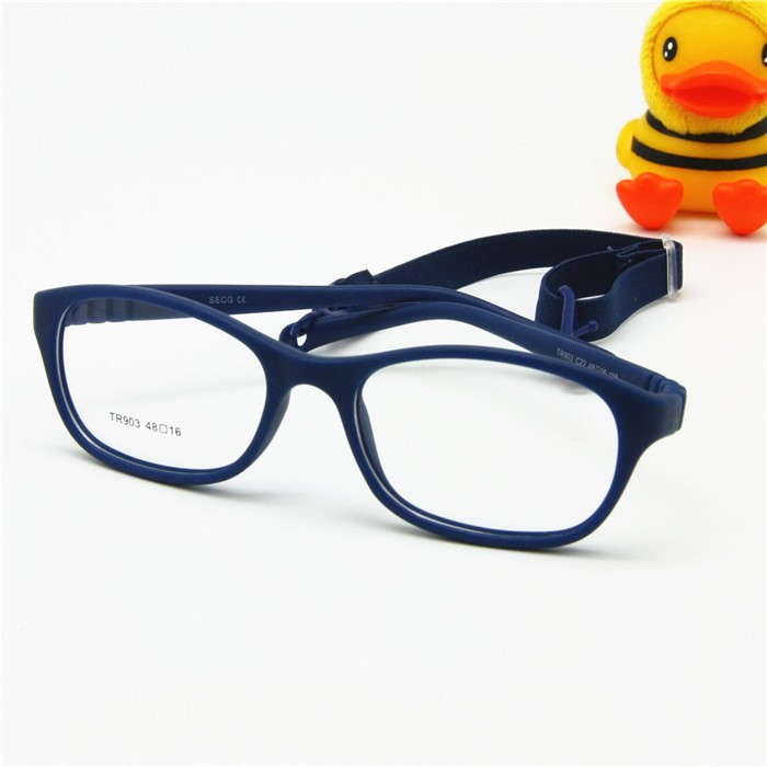 Glasses Frame Size 48 : Children Optical Glasses Frame with Strap One-piece ...