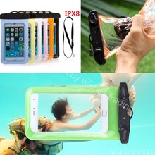 Waterproof Swim Impermeable Belt Mobile Cell Phone Sealed Bag Case for Huawei mate 9/pro/honor 8/p9/Umi z/super/plus/e/Blackview(China (Mainland))