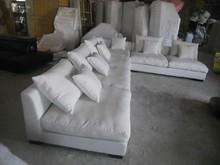 8611 Fabric sofa set living room furniture sofa sets home furniture sectional sofa sets white color feather inside(China (Mainland))