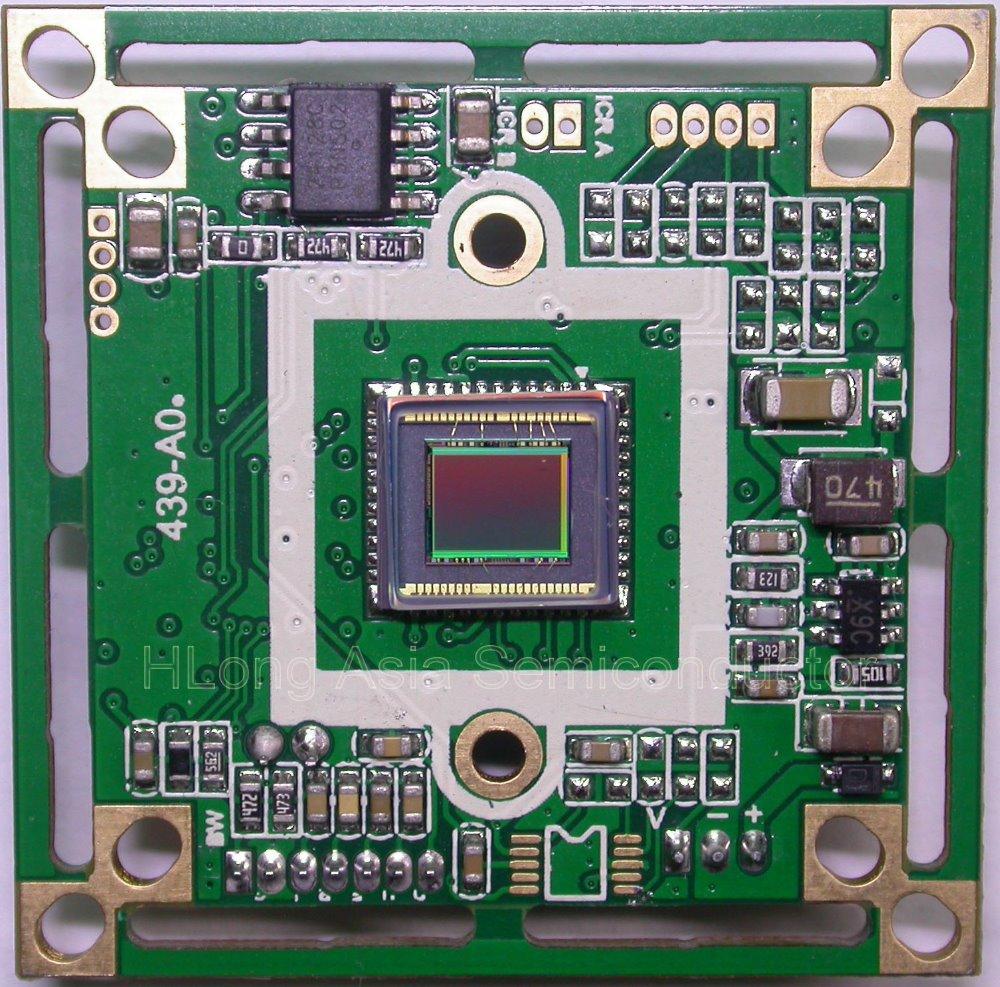 "Panasonic HD 1/3"" CCD image sensor HD8050 800TVL CCTV camera module chip board OSD menu(China (Mainland))"
