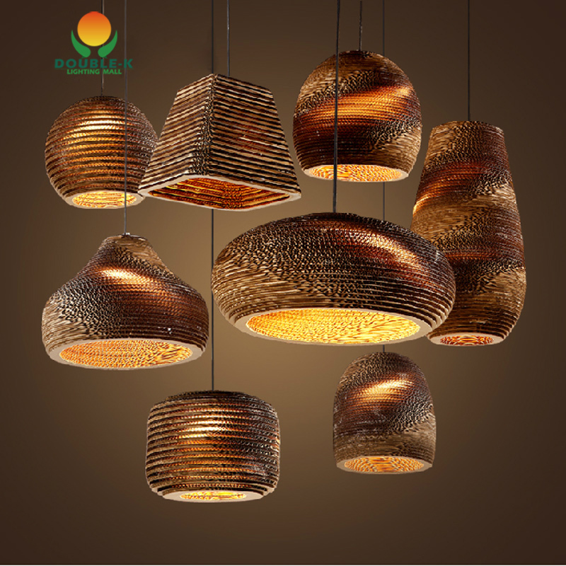 Buy Vintage Rural Paper Honeycomb Pendant Lamp Bra Pendant L