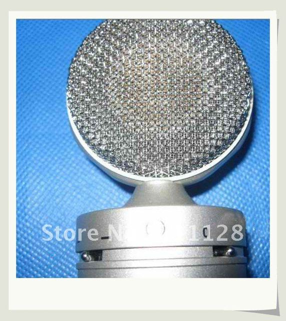 The vacuum tube big membrane microphone records K upscale the song microphone coverall